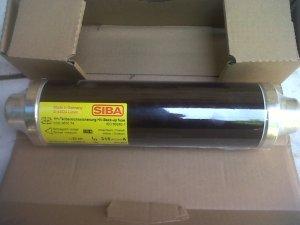 Fuse SIBA Un 3~7,2 kV ; In 315 A.